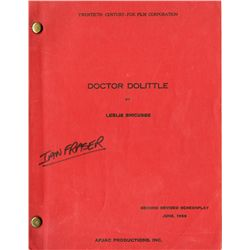 DOCTOR DOOLITTLE ORIGINAL SECOND REVISED SCREENPLAY