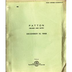 PATTON (BLOOD AND GUTS) SCRIPT