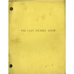 THE LAST PICTURE SHOW ORIGINAL REVISED FIRST DRAFT SCRIPT