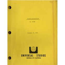 SCRIPTS INCLUDING AIRPORT, THE POSEIDON ADVENTURE, EARTHQUAKE, THE TOWERING INFERNO, THE HINDENBURG