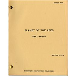 PLANET OF THE APES TV SERIES SCRIPT COLLECTION
