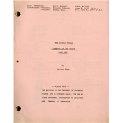 BIONIC WOMAN (50+) SCRIPT COLLECTION