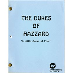 THE DUKES OF HAZZARD TV SCRIPT COLLECTION