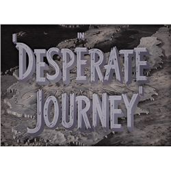DESPERATE JOURNEY BACKGROUND MAIN-TITLE CAMERA ART