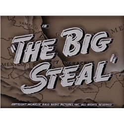 THE BIG STEAL BACKGROUND MAIN-TITLE CAMERA ART