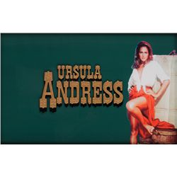 4 FOR TEXAS TITLE CAMERA ART FOR URSULA ANDRESS CREDIT