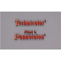 TECHNICOLOR/ FILMED IN PANAVISION TITLE CAMERA ART FOR CAMELOT