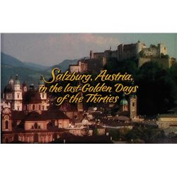 "THE SOUND OF MUSIC ""SALZBURG, AUSTRIA"" TITLE CAMERA ART"