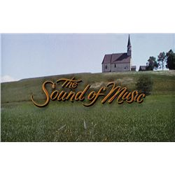 THE SOUND OF MUSIC MAIN-TITLE LOGO CAMERA ART