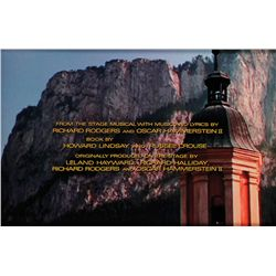 "THE SOUND OF MUSIC ""FROM THE STAGE MUSICAL BY…"" TITLE CREDIT CAMERA ART"