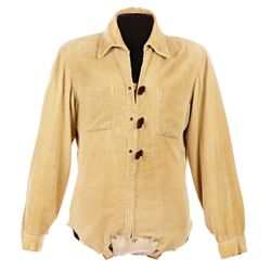 "CHUCK CONNORS SCREEN-WORN ""LUCAS MCCAIN"" THE RIFLEMAN SHIRT"