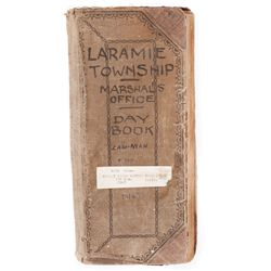 LAWMAN SCREEN-USED WESTERN LOG-BOOK