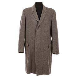 PATRICK MCGOOHAN'S SCREEN-WORN OVERCOAT FROM DANGER MAN AND THE PRISONER