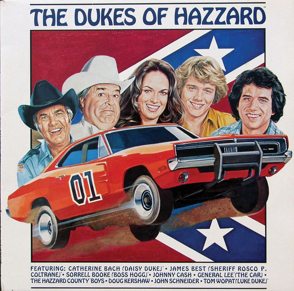 """ORIGINAL GENERAL LEE """"HAZZARD COUNTY"""" LICENSE PLATE FROM"""