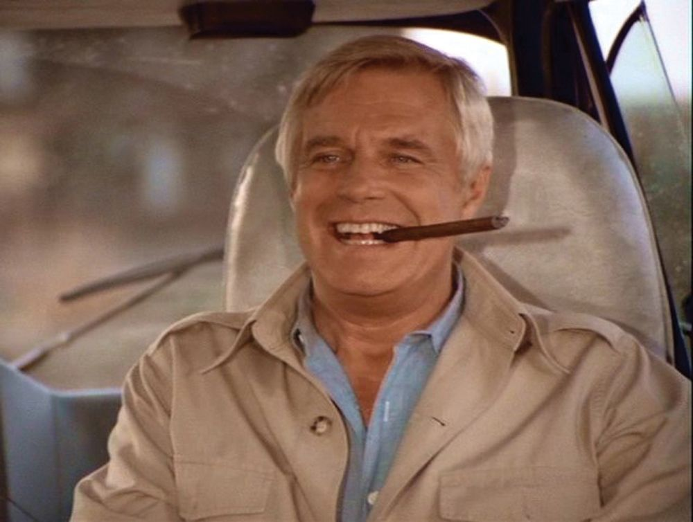 Image 2 A TEAM GEORGE PEPPARD JOHN HANNIBAL SMITH JACKET