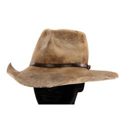 "A-TEAM SCREEN-WORN GEORGE PEPPARD ""JOHN ""HANNIBAL"" SMITH"" COWBOY HAT"
