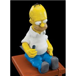 HOMER SIMPSON CLAYMATION HOMER PUPPET FROM THE SIMPSONS GUMBY-STYLE OPENING