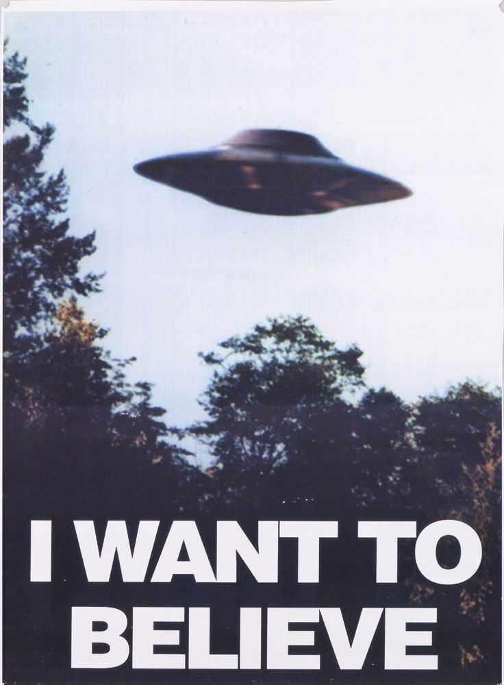 Image 1  THE X FILES  I WANT  X Files I Want To Believe Poster