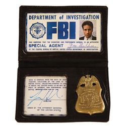 "THE X FILES DAVID DUCHOVNY AS ""MULDER"" FBI CREDENTIALS"