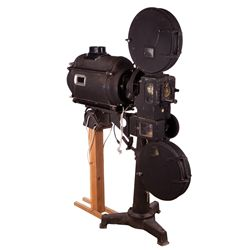 VINTAGE MOVIE THEATER 35MM PROJECTOR