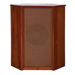 VINTAGE STAND-UP ENTERTAINMENT CENTER CORNER SPEAKER