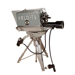 HISTORIC OSWALD/RUBY ASSASSINATION TELEVISION CAMERA