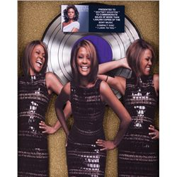 "WHITNEY HOUSTON AWARD FOR SALES OF 1,000,000 COPIES OF ""I LOOK TO YOU"""