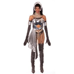 "WHITNEY HOUSTON SCREEN-USED ""RACHEL MARRON"" ""QUEEN OF THE NIGHT"" COSTUME FROM THE BODYGUARD."