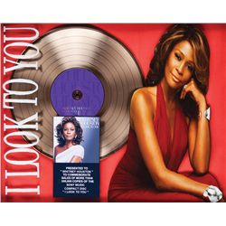 "WHITNEY HOUSTON AWARD FOR 500,000 COPIES OF THE CD ""I LOOK TO YOU"""