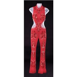 "BRITNEY SPEARS SEQUINED CATSUIT FROM ""OOPS!....I DID IT AGAIN"" PERFORMANCE AT THE 2000 GRAMMY AWARDS"