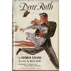 GROUCHO MARX PERSONAL COPY OF DEAR RUTH PLAY INSCRIBED BY AUTHOR NORMAN KRASNA