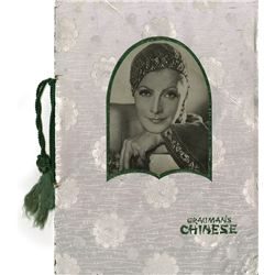 (2) GRETA GARBO CHINESE THEATER PROGRAMS FOR MATA HARI AND GRAND HOTEL