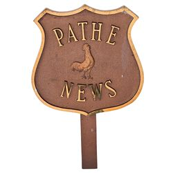 PATHE ROOSTER PLAQUE
