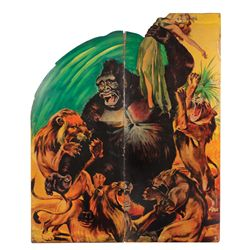 MIGHTY JOE YOUNG MONUMENTAL STANDEE