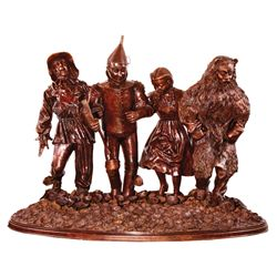 WIZARD OF OZ BRONZE SCULPTURE