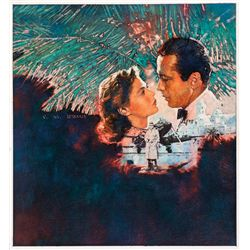 "MICHAEL DUDASH ORIGINAL PAINTING TITLED ""CASABLANCA"""