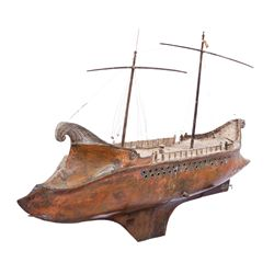 (19) BEN HUR SCREEN-USED MINIATURE SHIPS