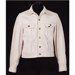 "ELVIS PRESLEY ""JOSH MORGAN/JODIE TATUM"" KISSING COUSINS SCREEN-WORN JACKET WITH INSCRIPTION"