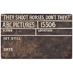 THEY SHOOT HORSES, DON'T THEY? CONTINUITY BOARD