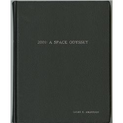 2001: A SPACE ODYSSEY EARLY DRAFT STUDIO VAULT COPY SCRIPT
