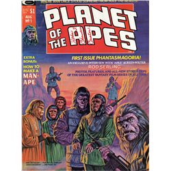 JOHN CHAMBERS (8) PERSONAL COPIES OF PLANET OF THE APES COMICS