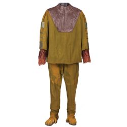 "RODDY MCDOWALL ""CORNELIUS"" HERO PANTS AND SHOES WITH HERO CHIMPANZEE TUNIC FROM PLANET OF THE APES"