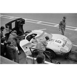 PHOTO ARCHIVE TAKEN AT LE MANS IN '69 DURING STEVE MCQUEEN'S PRE-PRODUCTION SCOUTING FOR LE MANS