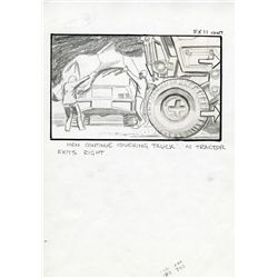 ALIENS SET OF (4) STORYBOARDS