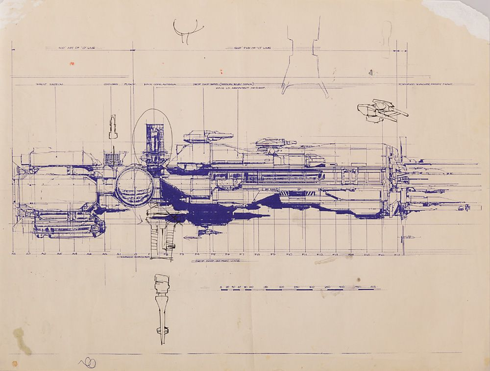 2 aliens production blueprints of the sulaco with hand 2 aliens production blueprints of the sulaco with hand annotations by f loading zoom malvernweather Images