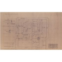 ALIENS PRODUCTION DISPLAY COLONY BLUEPRINTS PLUS BLUEPRINT FOR INTERIOR OPERATIONS
