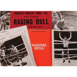 """RAGING BULL"" DASH PLACARD AND COMPLETE PRESS KIT"
