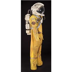 OUTLAND SPACE SUIT WITH BACKPACK, HELMET, & GLOVE LINERS