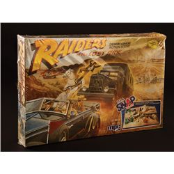 "RAIDERS OF THE LOST ARK ""DESERT CHASE ACTION SCENE"" MODEL KIT AND ORIGINAL BOX ART"