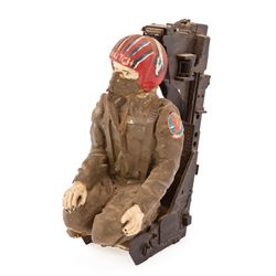 TOP GUN TOM CRUISE PILOT CRASH MINIATURE